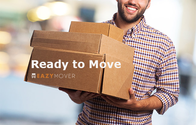 Movers carry boxes