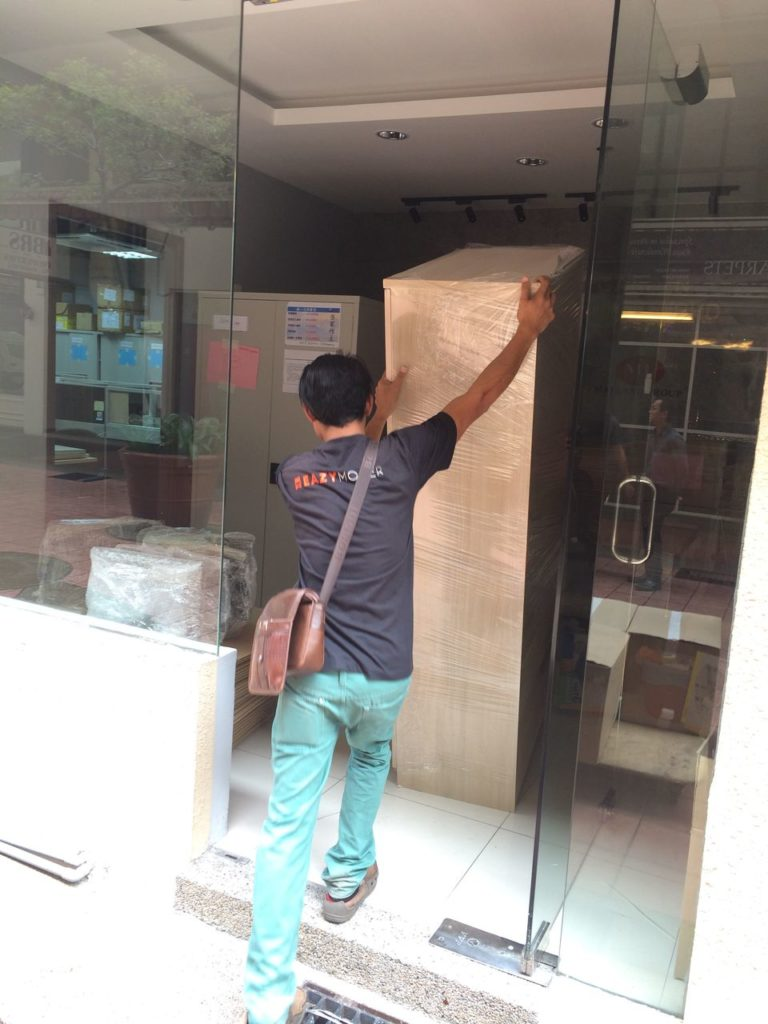 Movers are moving Office Cabinet