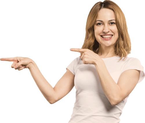 Women-pointing
